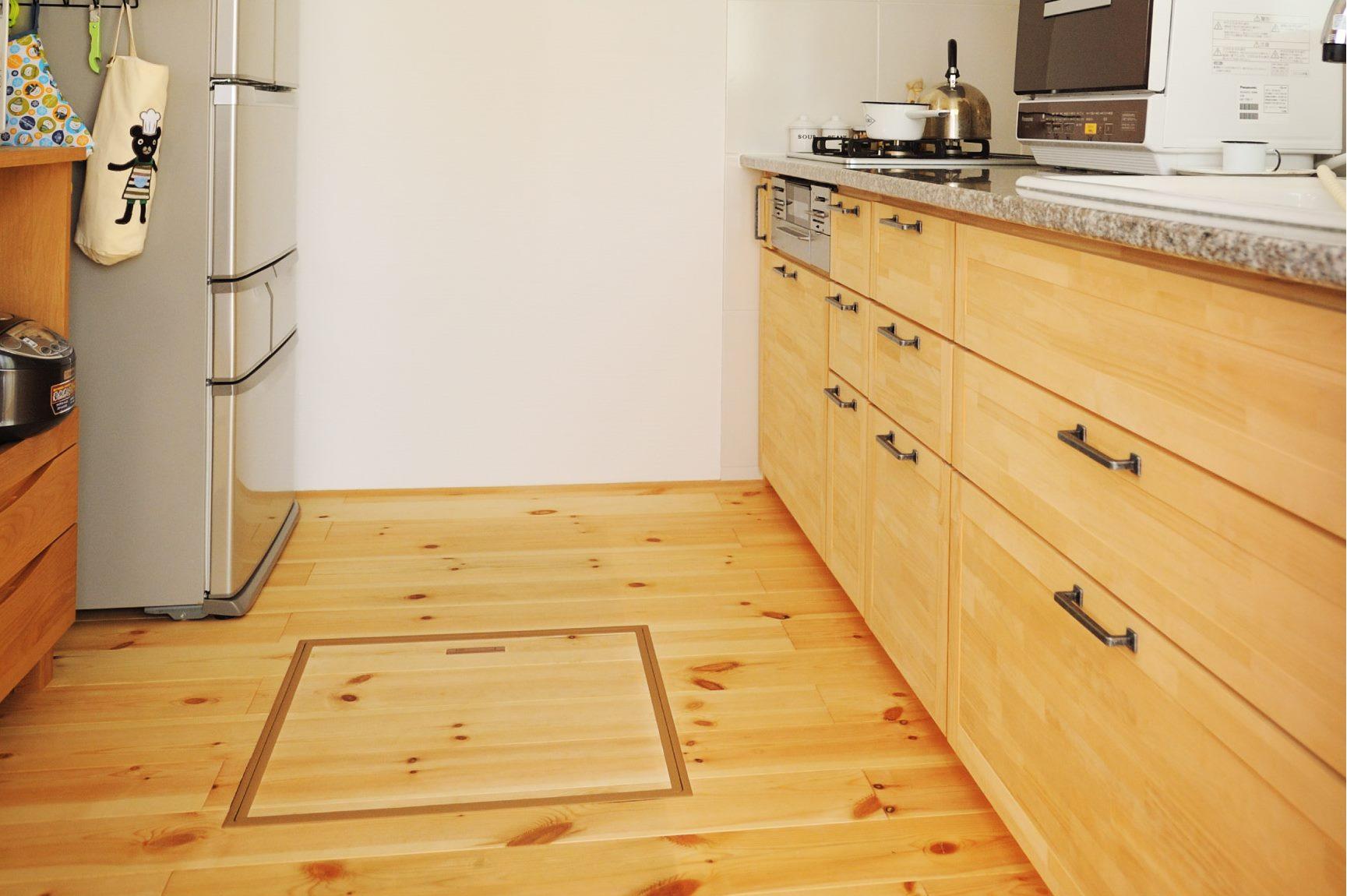 床下収納のメリットやデメリットは?どこに設置すべき?